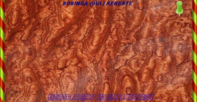 Bubinga-Gül