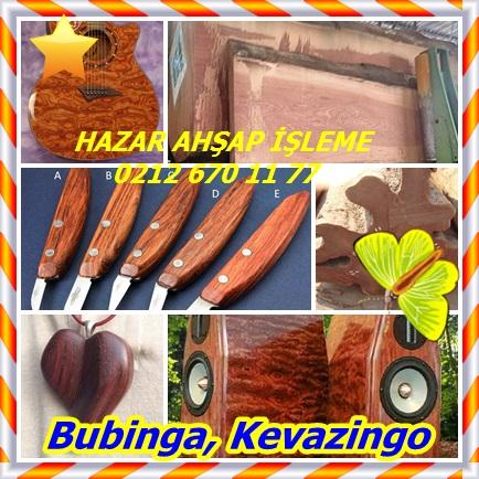 Bubinga, Kevazingo
