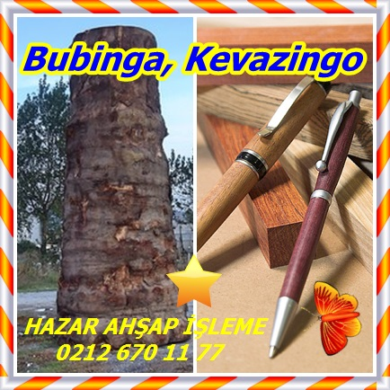 Bubinga, Kevazingof