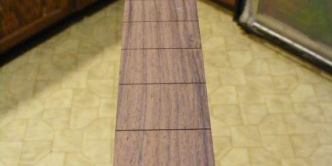 sapelli gitar sap papel kesim