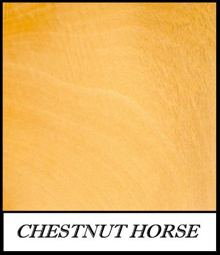 Chestnut horse - Aesculus Hippocastanum