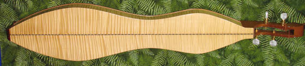 maple, curly dulcimer s25 plh