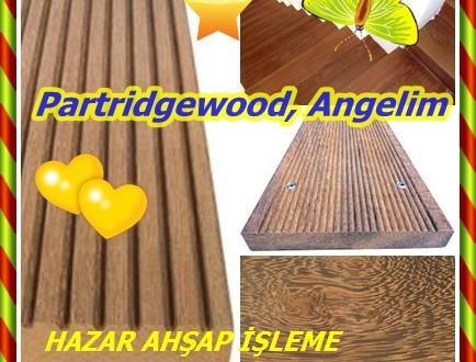 Partridgewood, Angelim,Andira inermis, keklik ahşap, kabbes, Mocan, acapurana, lahana ağacı