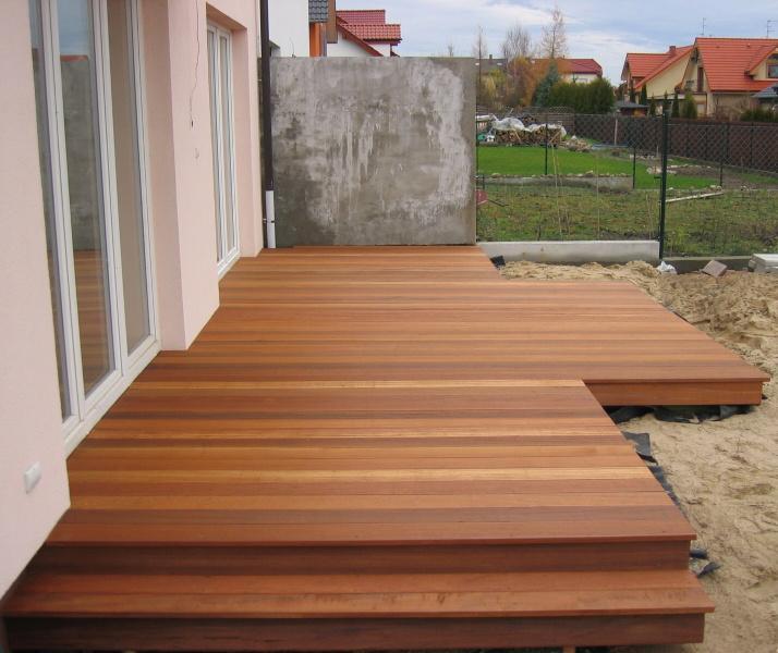 Drewniany taras Bangkirai umultowo Poznan_0