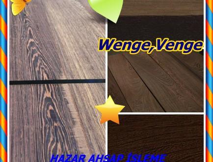 Wenge,Venge ,(Millettia laurentii),Wengue, awong, bois de fer, bois noir, Palissandre du Kongo, sahte ébénier (Fr). Venge, pau, Ferro