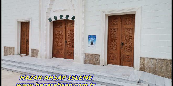 CAMİ KAPISI ÇALIŞMASI